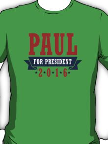 Rand Paul for President T-Shirt