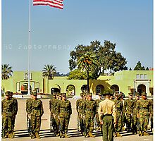 MCRD Drill by Hollie Cook