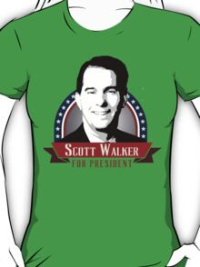 Scott Walker for President T-Shirt