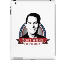 Scott Walker for President iPad Case/Skin