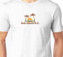 Oak Island - North Carolina.  Unisex T-Shirt