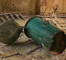 old dustbin by danapace