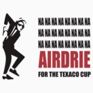 Texaco Cup by Airdrieonians