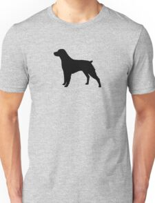 Brittany Silhouette(s) Unisex T-Shirt