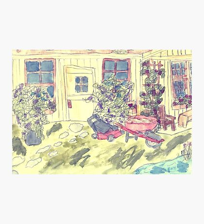 The Potting Shed Photographic Print