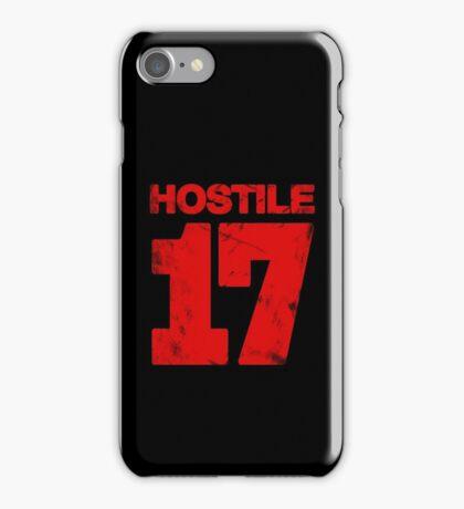 Hostile 17 iPhone Case/Skin