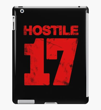 Hostile 17 iPad Case/Skin