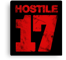 Hostile 17 Canvas Print