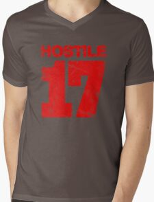 Hostile 17 Mens V-Neck T-Shirt