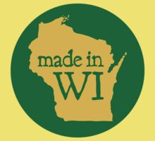 Made in WI - Green Circle Kids Clothes
