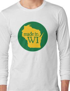 Made in WI - Green Circle Long Sleeve T-Shirt