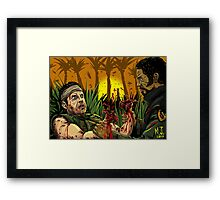 Tropic Thunder Framed Print