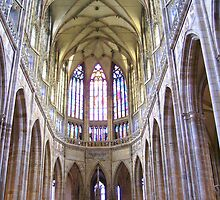 Interior Of The Saint Vitus Cathedral by HELUA