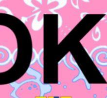 Oak Island. Sticker