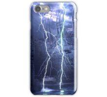 Alien thunder iPhone Case/Skin