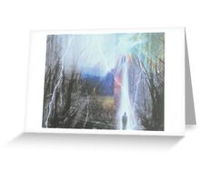 Walk On .....   Through  The Storm     Greeting Card