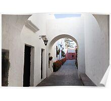 El Monasterio de Santa Catalina Poster