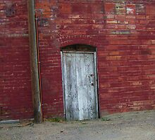 Urban Textures in an alley, Brush Colorado by F.  Kevin  Wynkoop
