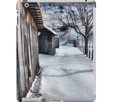 A snowy scene from West VA. iPad Case/Skin