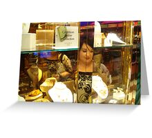 Window Shopper Greeting Card