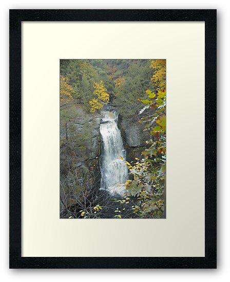 Bridal Veil Falls by Paul Gitto