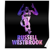 Russell Westbrook Galaxy Poster