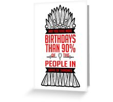 Birthdays | Red Greeting Card