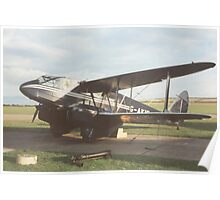 DeHavilland Dragon Rapide Poster