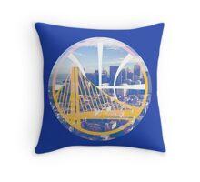 Golden State Throw Pillow
