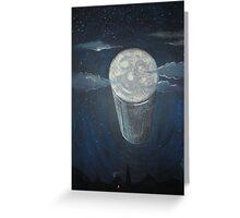 Blue Moon Beer Greeting Card