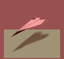 Paper Airplane 108 by YoPedro