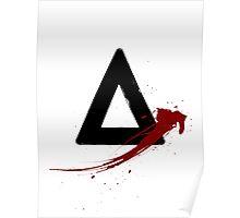 Bastille (triangle logo) Poster