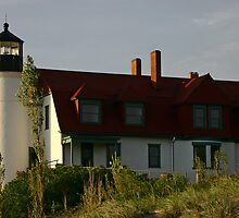 Point Betsie Lighthouse, Michigan by Jeremy Davis