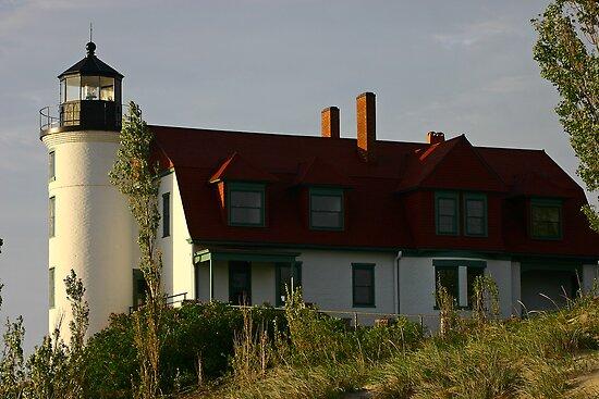 Point Betsie Lighthouse, Michigan by Jeremy Davis