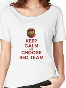 Halo Keep Calm Women's Relaxed Fit T-Shirt