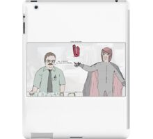 X-Men + Office Space iPad Case/Skin