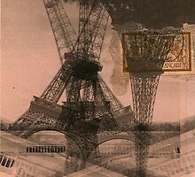 Eiffel x4 by BHarrisonArts