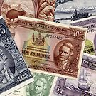 Old NZ Banknotes by Robert Abraham
