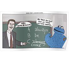 Sesame Street + Glengarry Glen Ross Poster