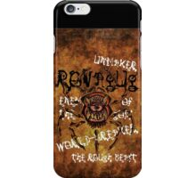ROVAGUG, The Rough Beast iPhone Case/Skin