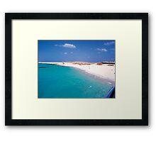 The Red Sea, Hurghada , Egypt Framed Print