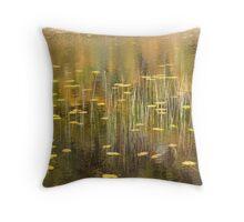lake of lilies Throw Pillow