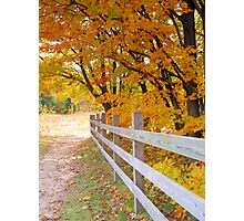 Fall at Deadmans' Hill Photographic Print