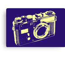 CLASSIC CAMERA-LARGE Canvas Print