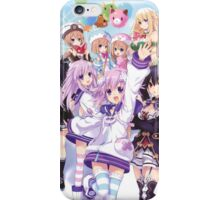 Hyperdimension Neptunia Re;Birth 2 main cast iPhone Case/Skin