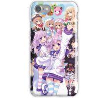 Hyperdimension Neptunia Re;Birth 2 main cast iPhone Case/Skin