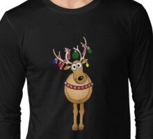 Festive Reindeer Long Sleeve T-Shirt