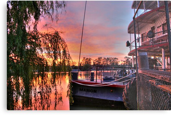 Ps Marion at Sunrise by Dave  Hartley