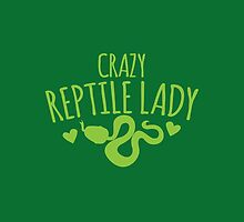 Crazy Reptile lady by jazzydevil
