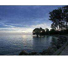Lake Ontario as the Sun goes Down Photographic Print